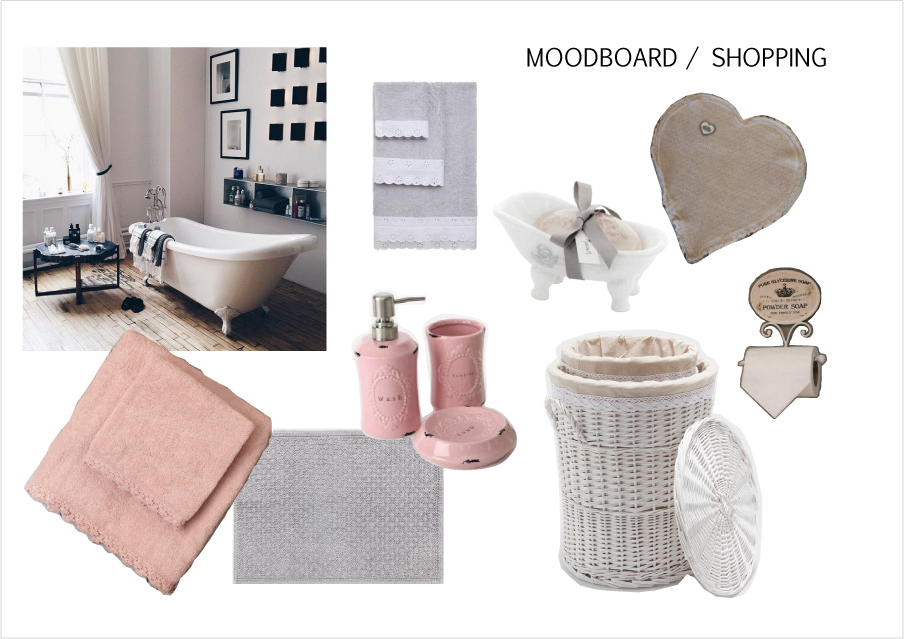 Shopping Per Il Bagno Shabby Chic Interior Design Low Cost